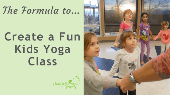 Sequencing a Kids Yoga Class that Works